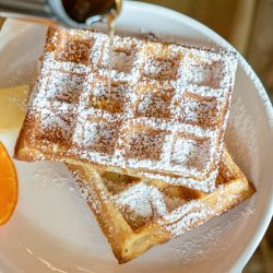 Amish Friendship Bread Waffles