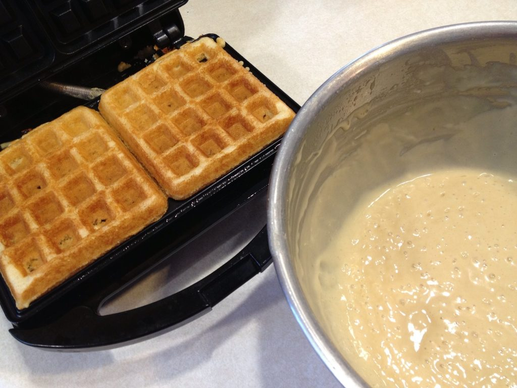amish friendship bread waffles and starter