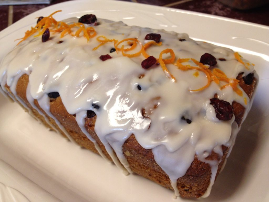 Cranberry Orange Amish Friendship Bread by Paula Altenbach ♥ friendshipbreadkitchen.com