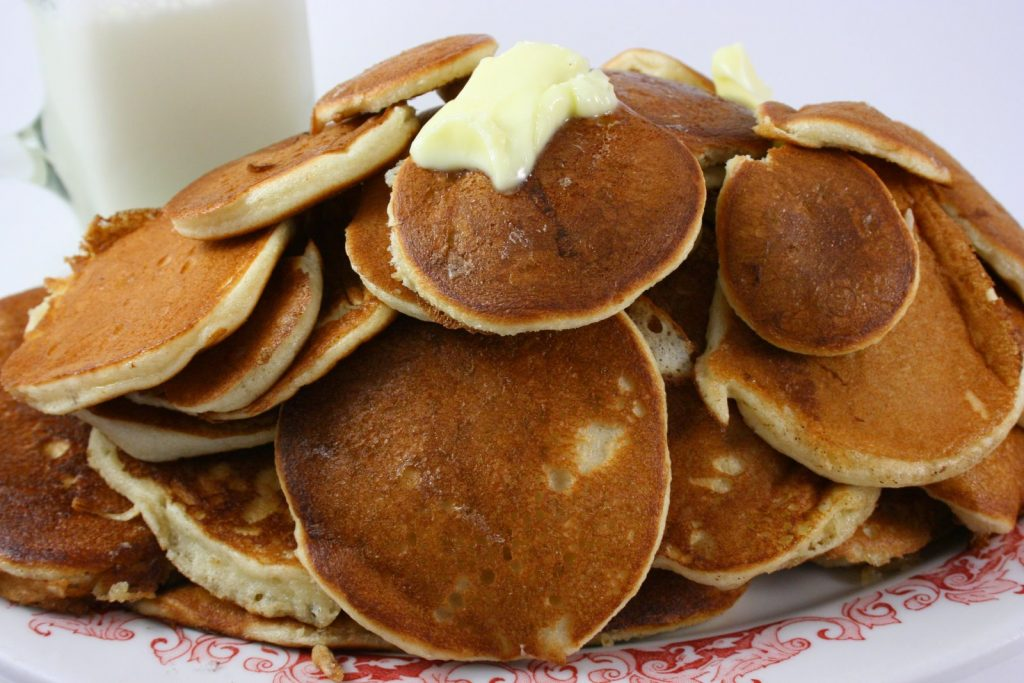 Amish Friendship Bread Pancakes