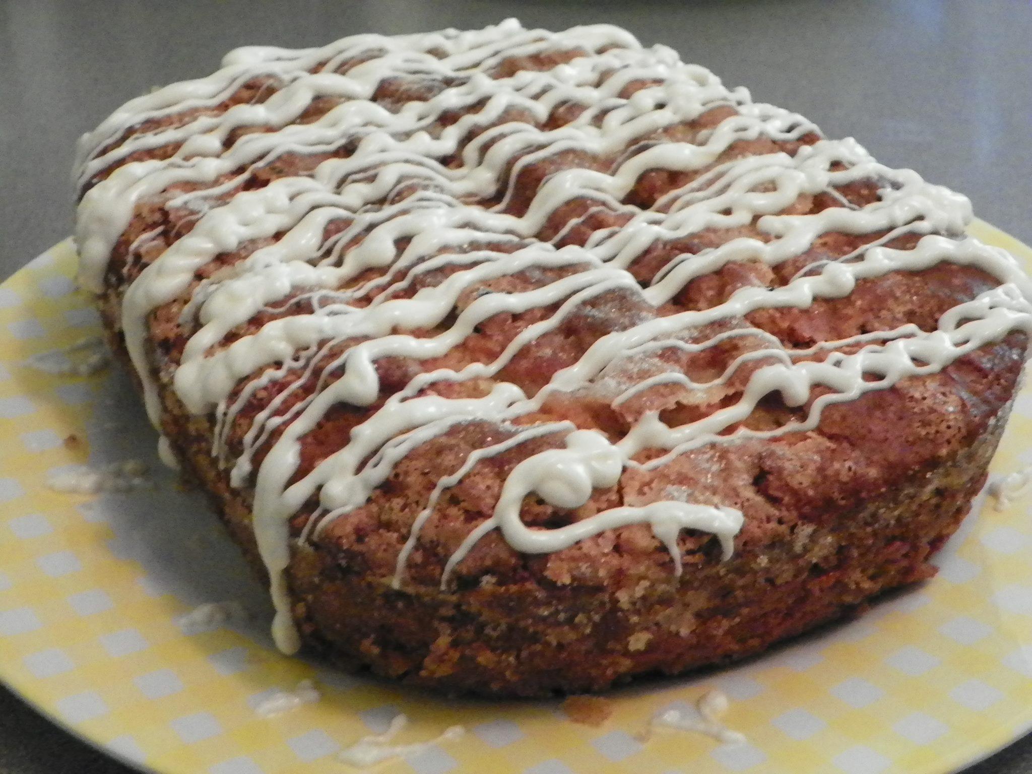 White Chocolate Raspberry Amish Friendship Bread by Kimberly Kozicki ♥ friendshipbreadkitchen.com