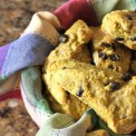 Pumpkin Amish Friendship Bread Scones