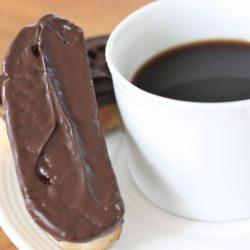 Chocolate Dipped Coconut Walnut Amish Friendship Bread Biscotti ♥ friendshipbreadkitchen.com