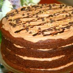 Hazelnut Cappuccino Amish Friendship Bread Cake