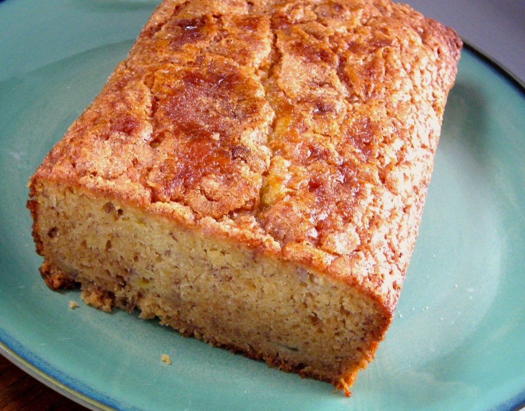 Banana Amish Friendship Bread by Kimberly Kurt Matthews ♥ friendshipbreadkitchen.com