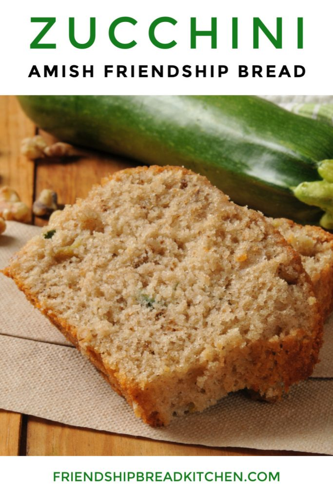 Zucchini Amish Friendship Bread-2