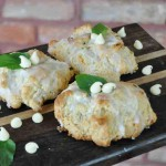 afb white chocolate mint scones Cheryl Wilson
