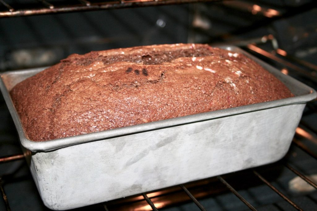 Chocolate Candy Cane Amish Friendship Bread | friendshipbreadkitchen.com
