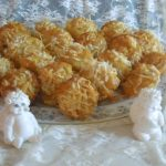 Amish Friendship Bread Pineapple Coconut Cheesecake Mini Muffins