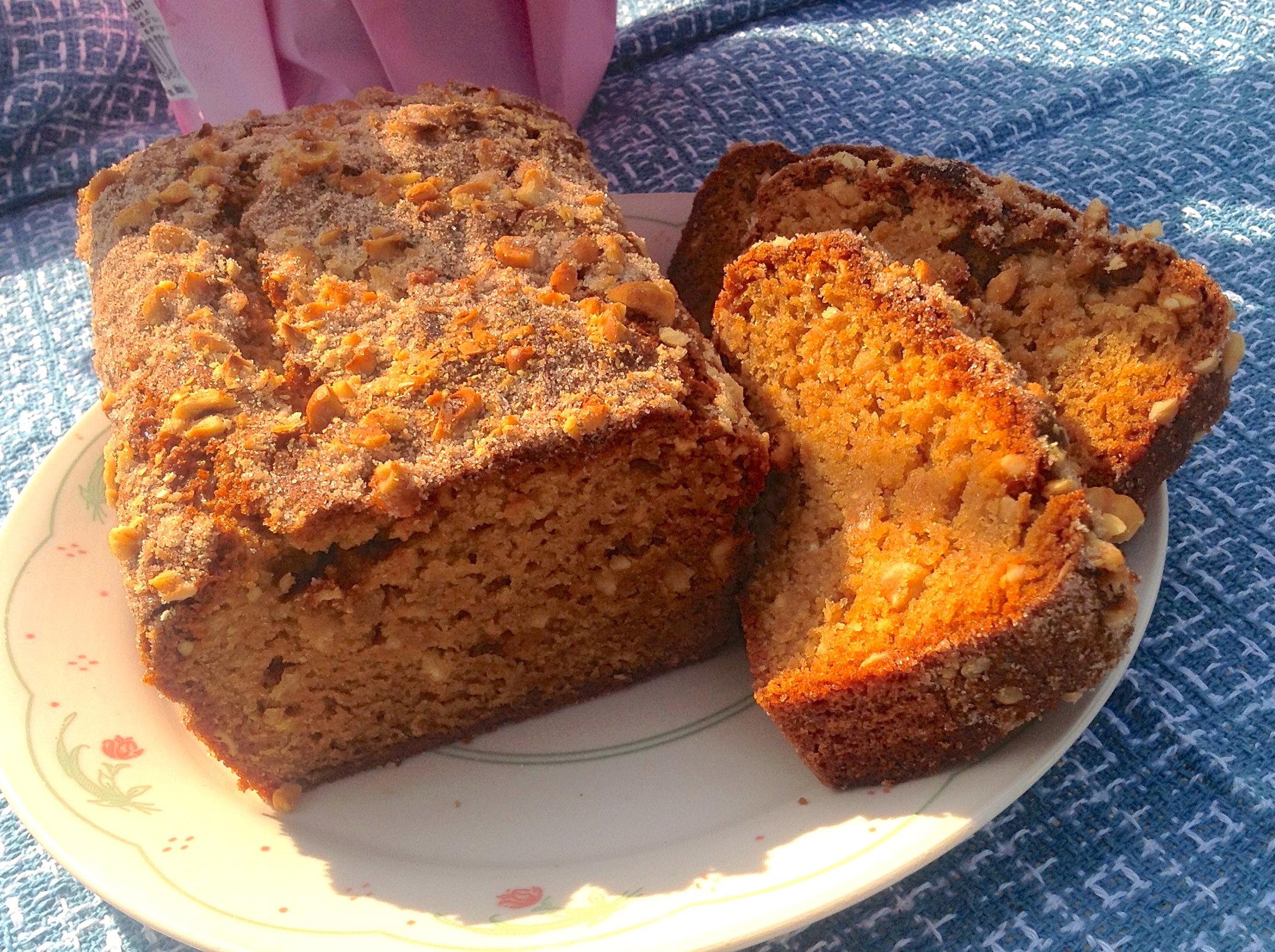 Hazelnut Amish Friendship Bread by Diane Siniscalchi | friendshipbreadkitchen.com