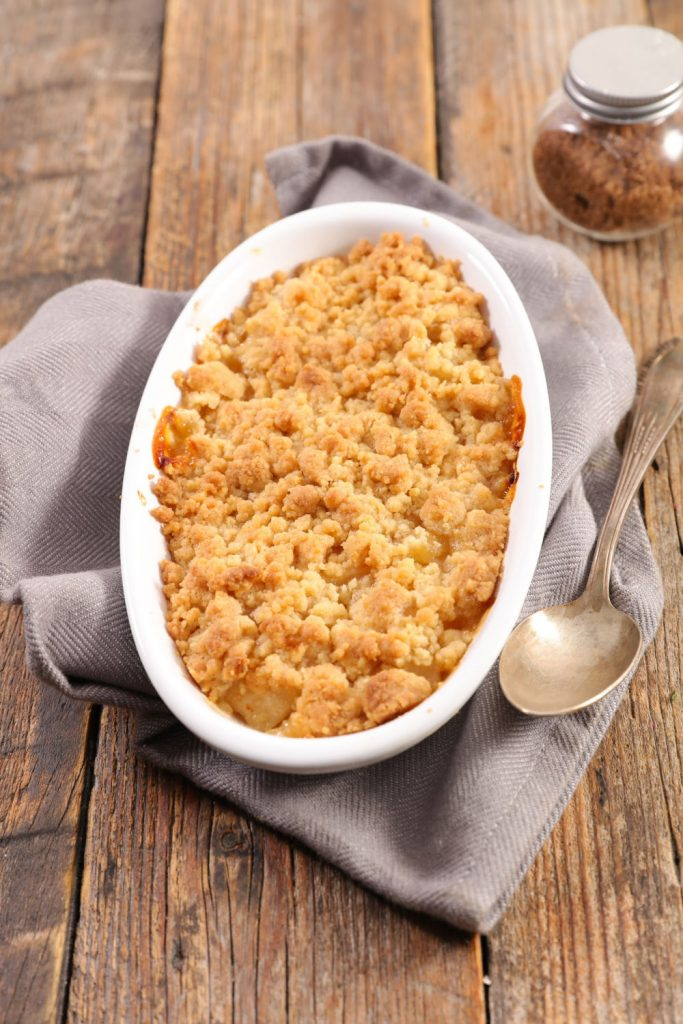 This Easy Crumble Recipe makes a quick topping for any Amish Friendship Bread recipe.