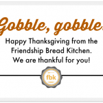 A Thanksgiving Thank You