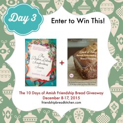 Day 3 of the 10 Days of Amish Friendship Bread Giveaway – Mix or Mash