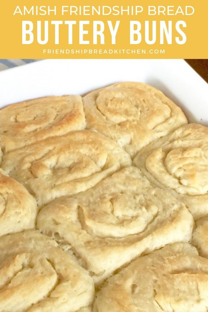 buttery buns in white dish