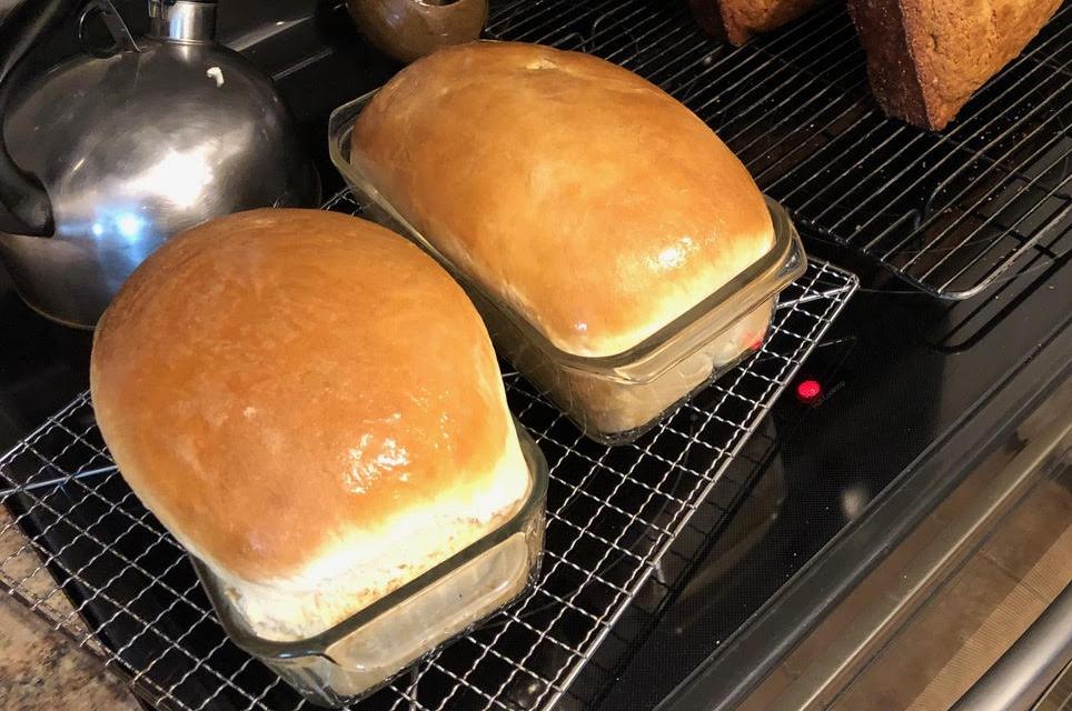 Amish Friendship Bread White Bread | friendshipbreadkitchen.com