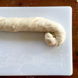 Scallion Skillet Amish Friendship Bread | friendshipbreadkitchen.com