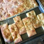 Amish Friendship Bread Focaccia