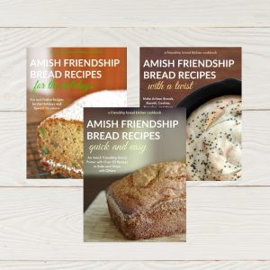Three Friendship Bread Kitchen e-cookbooks
