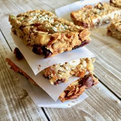 Amish Friendship Bread Granola Bars