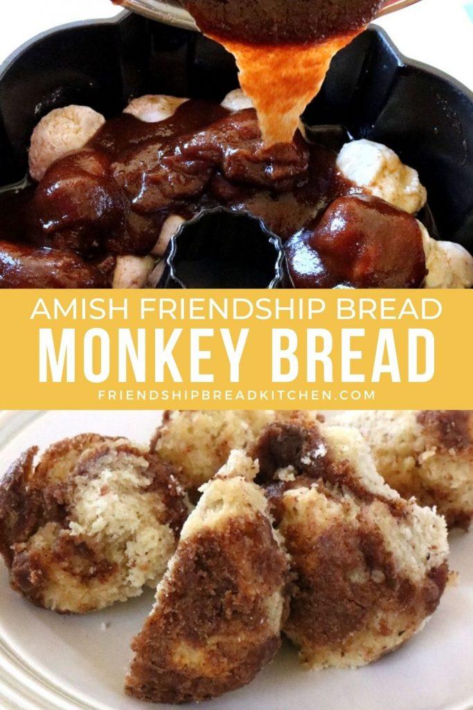 monkey bread pulled apart