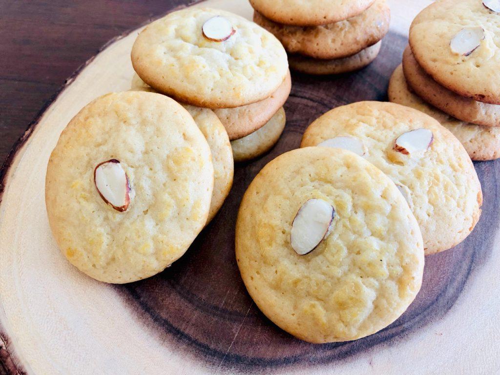 Amish Friendship Bread Chinese Almond Cookies   friendshipbreadkitchen.com