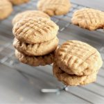 Amish Friendship Bread Peanut Butter Cookies