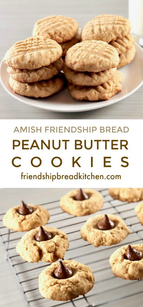 Amish Friendship Bread Peanut Butter Cookies | friendshipbreadkitchen.com