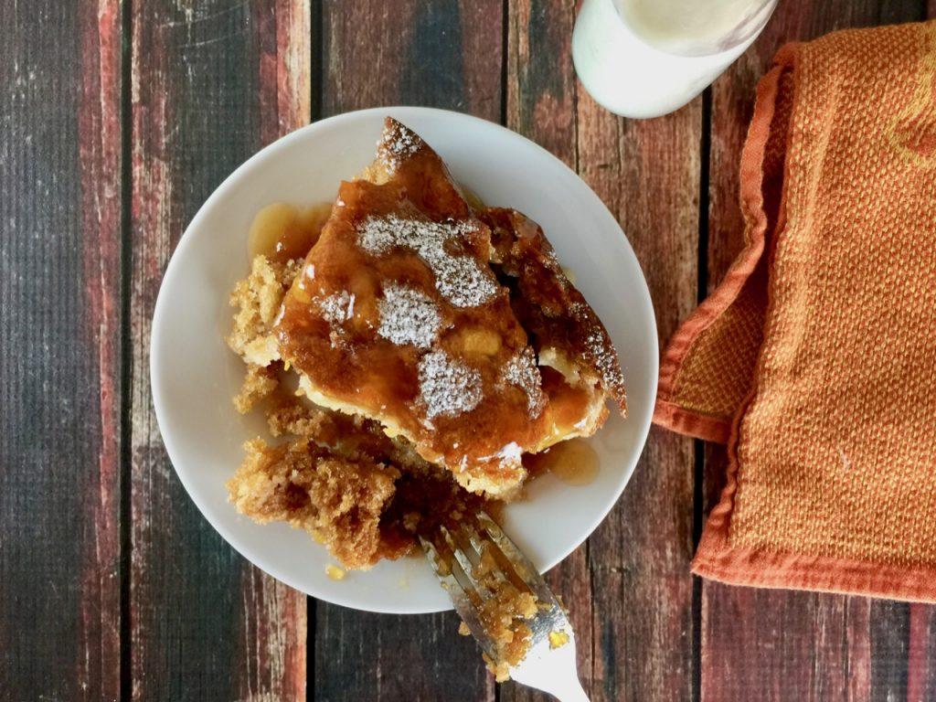 Apple Apricot Amish Friendship Bread Bundt Cake | friendshipbreadkitchen.com