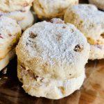 Amish Friendship Bread Pecan Sandies Cookies