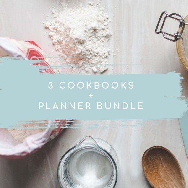 Amish Friendship Bread Cookbook Planner Bundle