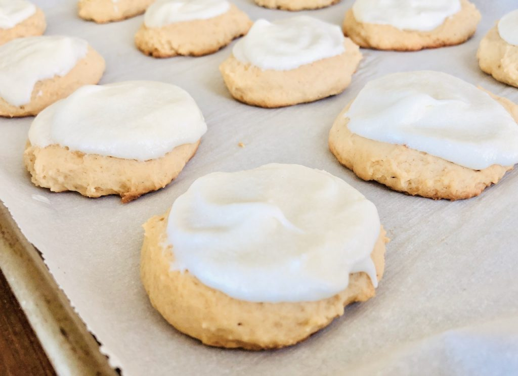 Amish Friendship Bread Eggnog Cookies