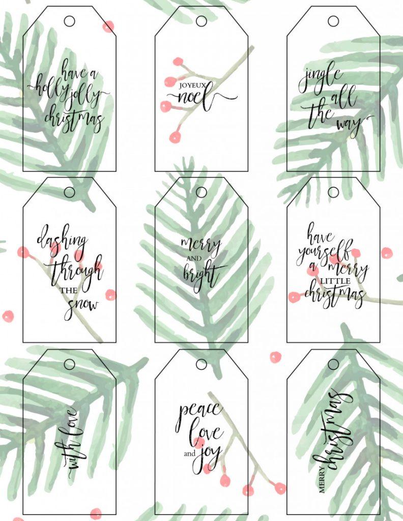 FBK Holiday Gift Tags