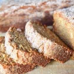 Sliced Amish Friendship Bread (No Pudding / Pudding Free)