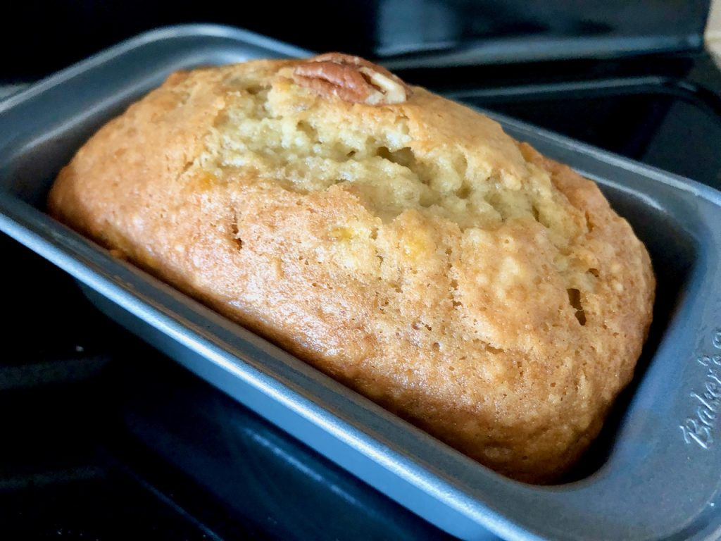 Easy Amish Friendship Bread Banana Bread