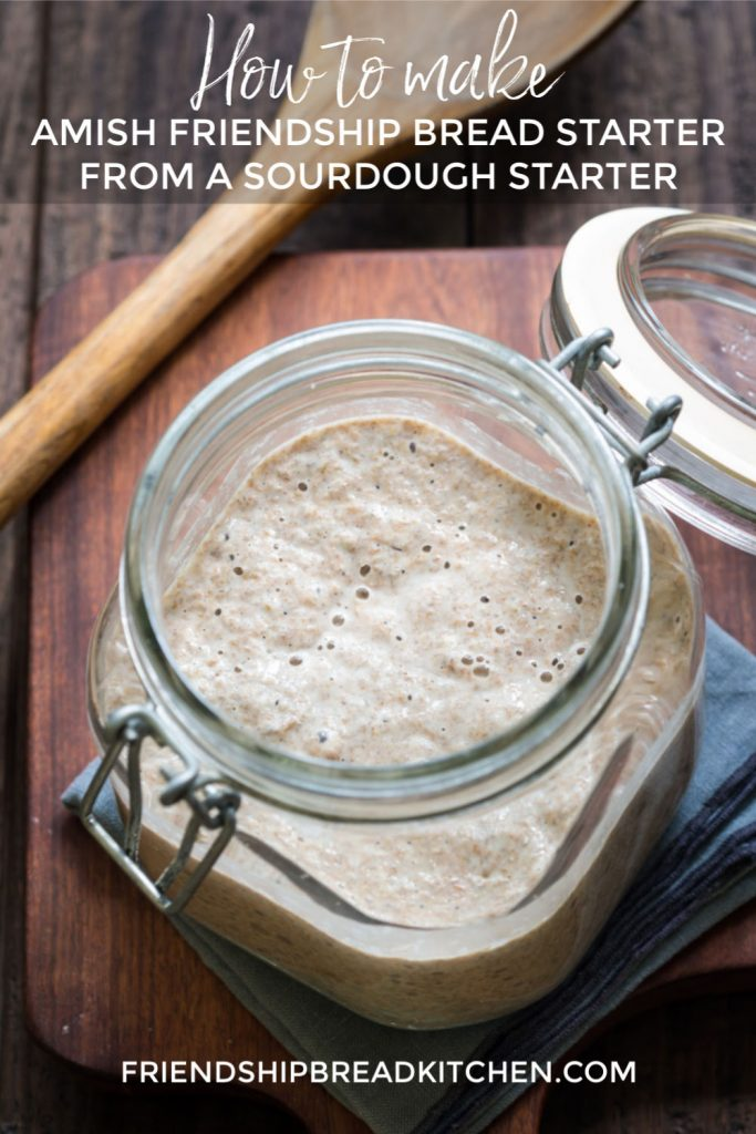 How to Make Amish Friendship Bread Starter From Sourdough Starter