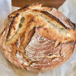 Amish Friendship Bread No-Knead Sourdough Bread
