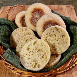 Amish Friendship Bread English Muffins
