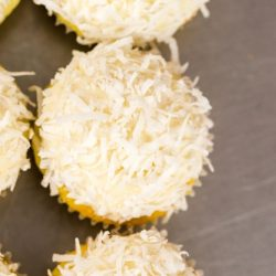Pineapple Coconut Cheesecake Amish Friendship Bread Mini Muffins